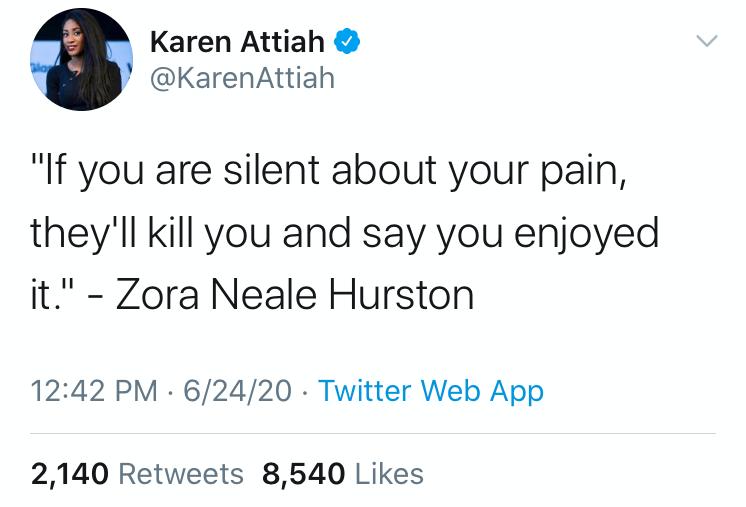 setting-boundaries-tweet-karen-attiah-zora-neale-hurston-supportiv